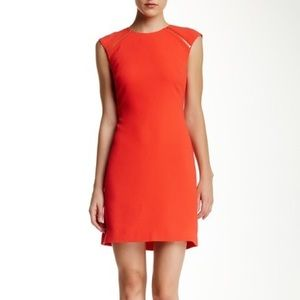 Ted Baker 'Tatty' Textured Zipper Shift Dress